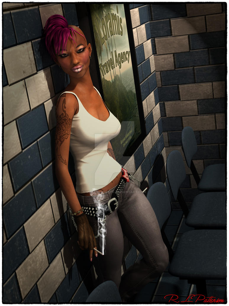 Afro Punk by MrSynnerster