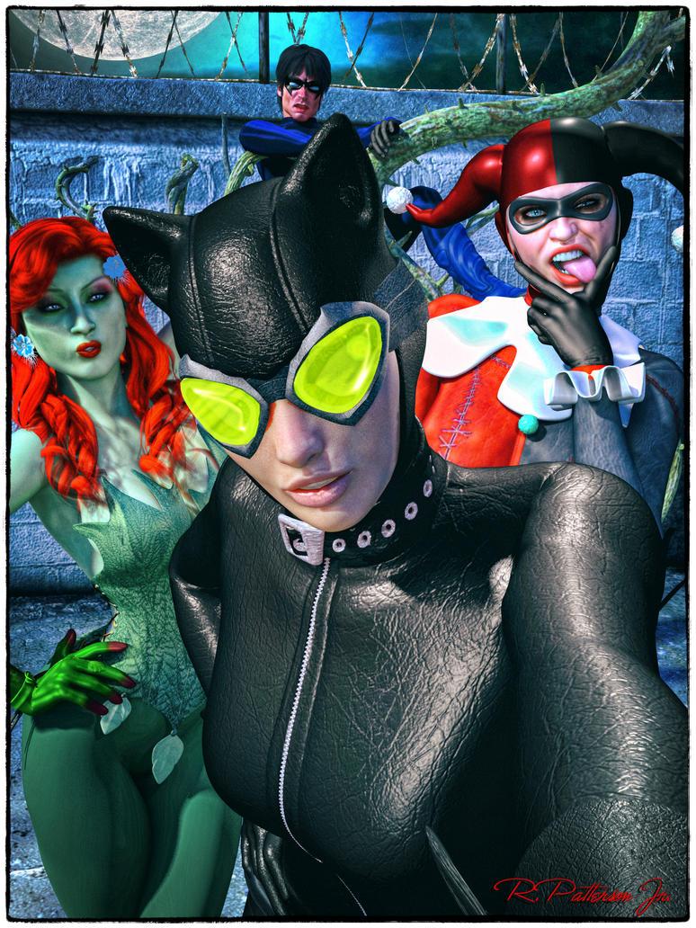 Gotham Sirens by MrSynnerster