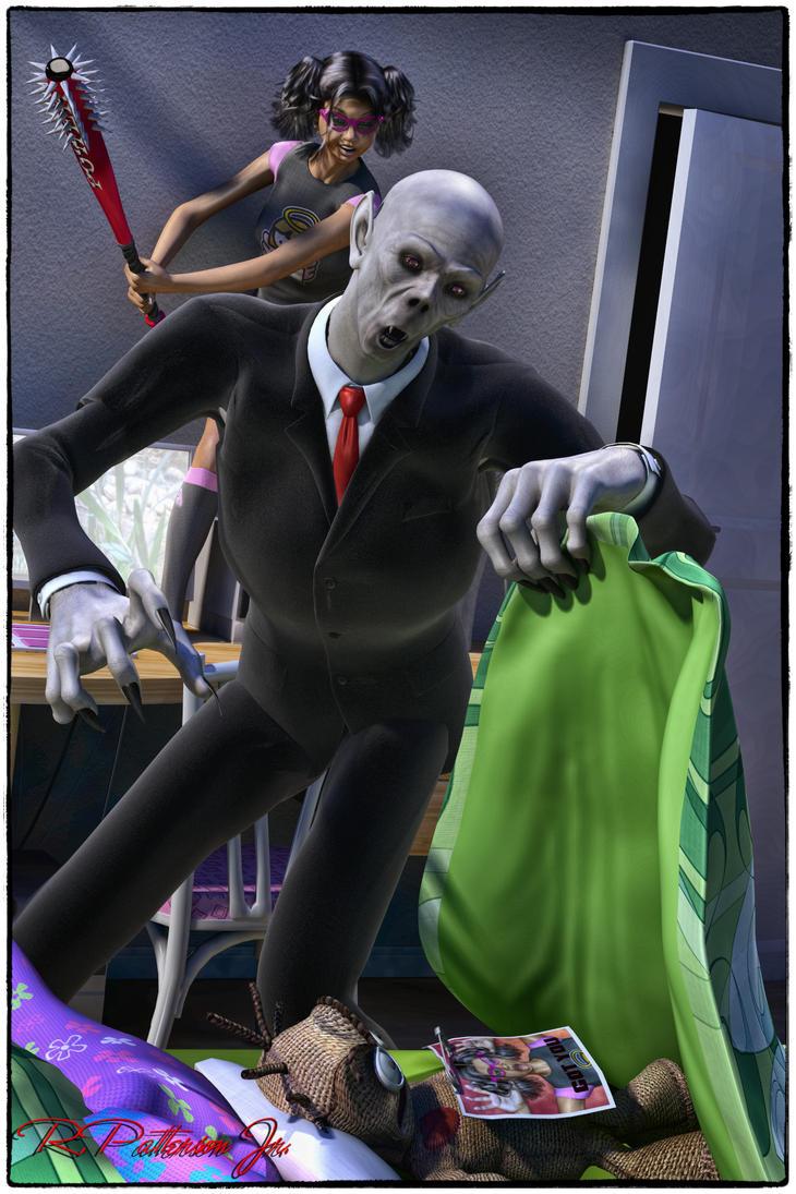 Got you Mr. Boogie Man by MrSynnerster