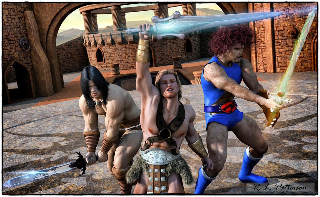 Barbarians at the Gate by MrSynnerster