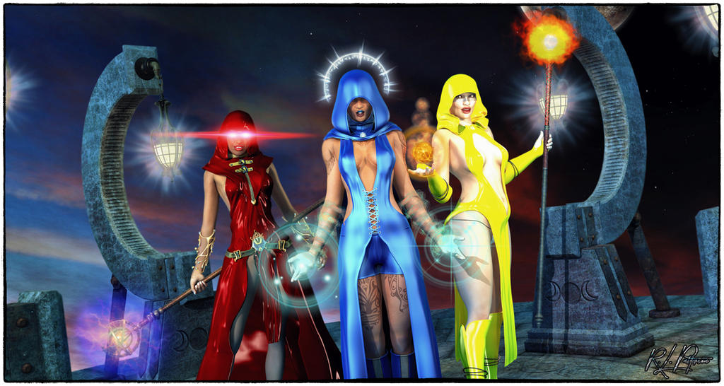 The Three Witches by MrSynnerster