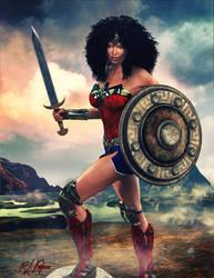 Wonder Woman 2017 by MrSynnerster