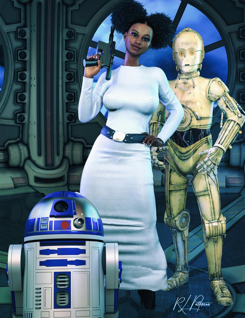 Princess Leia by MrSynnerster