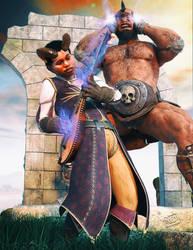 Tiefling Warlock Bard