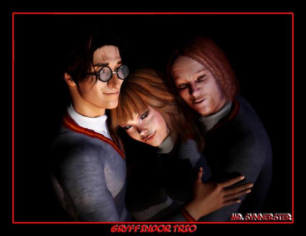 The Trio by MrSynnerster