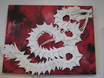 Paper Dragon by Artifex13Temporis
