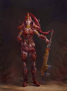 Pyrrha Bloodpact Champion