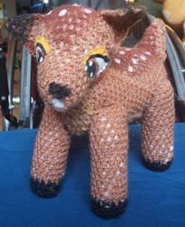 Bambi plushie by spebele