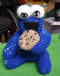 cookie monster plushie by spebele