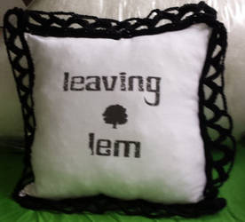 Pillow LeavingLem by spebele