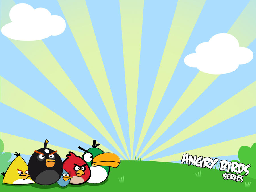Angry Birds Powerpoint Background by ohitscha