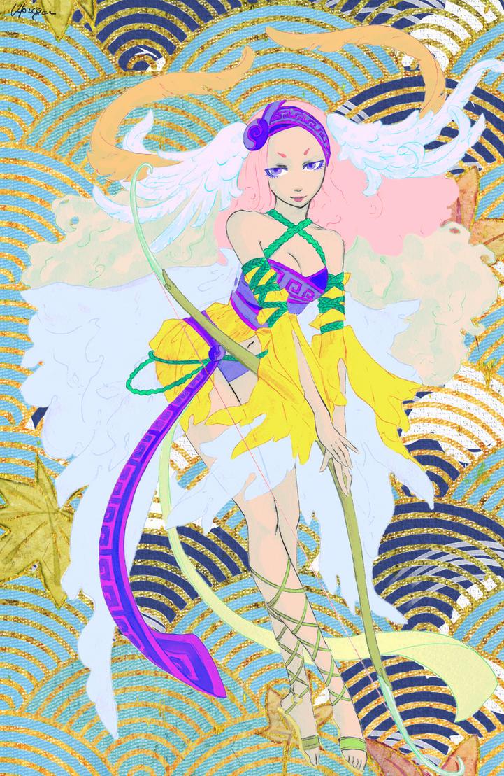 Iris by Magewriter