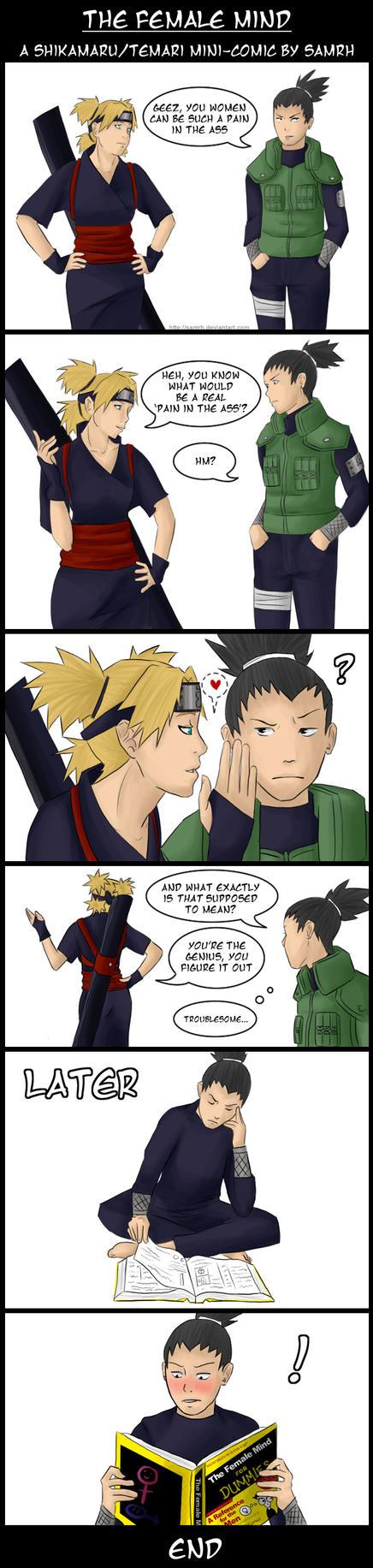 Naruto- Comic: The Female Mind by SamRH
