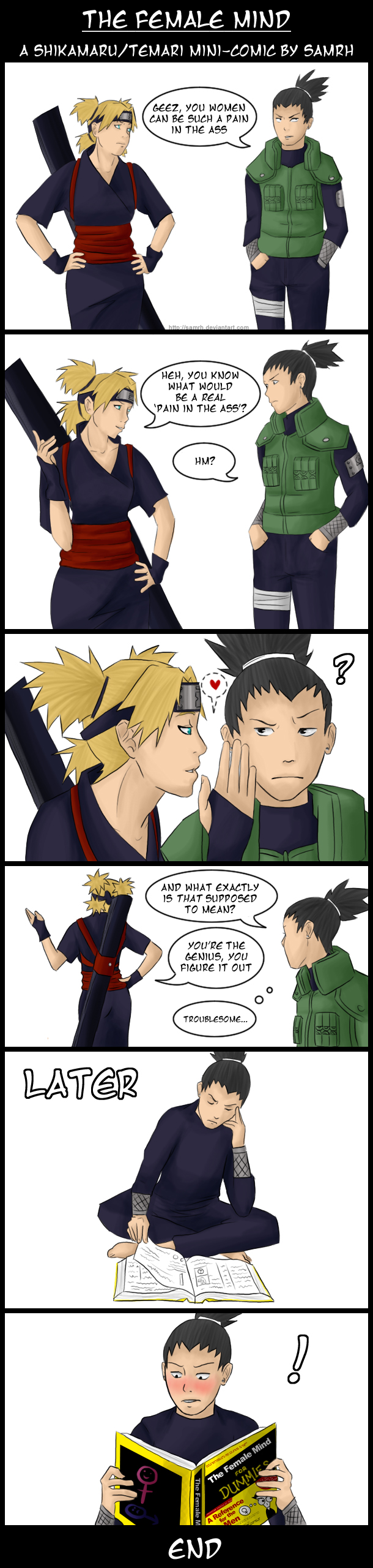 Naruto- Comic: The Female Mind by SamRH