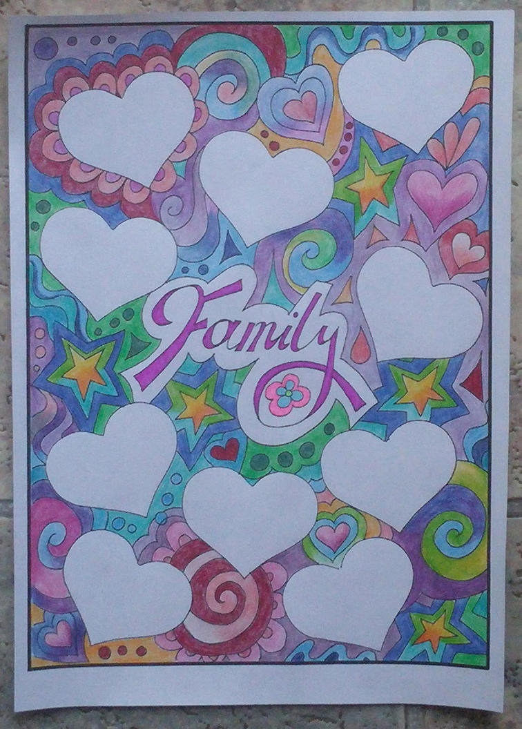 Family journal page by astraldreamer
