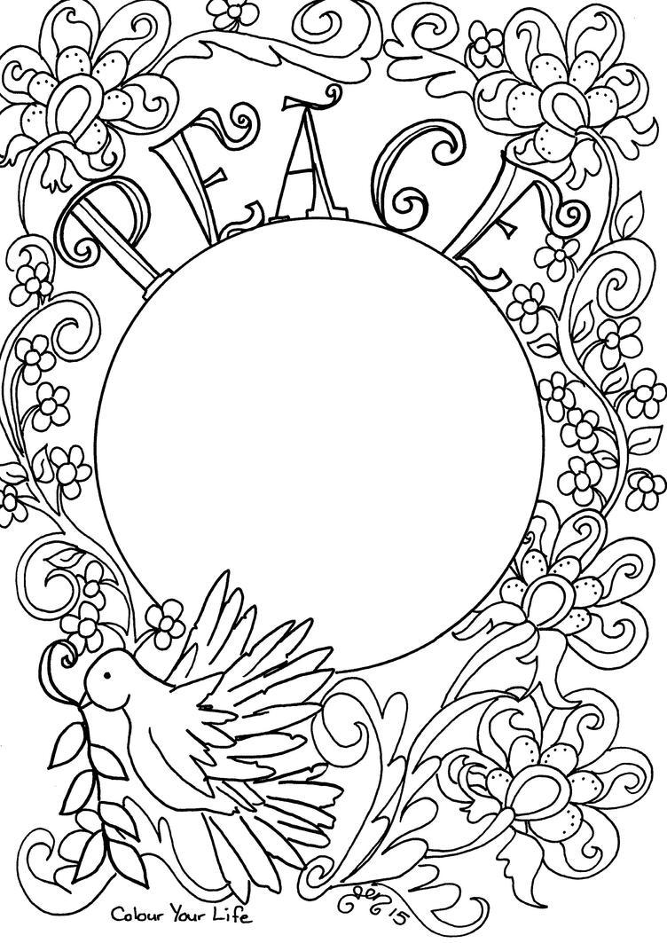 Prayer for Peace by astraldreamer