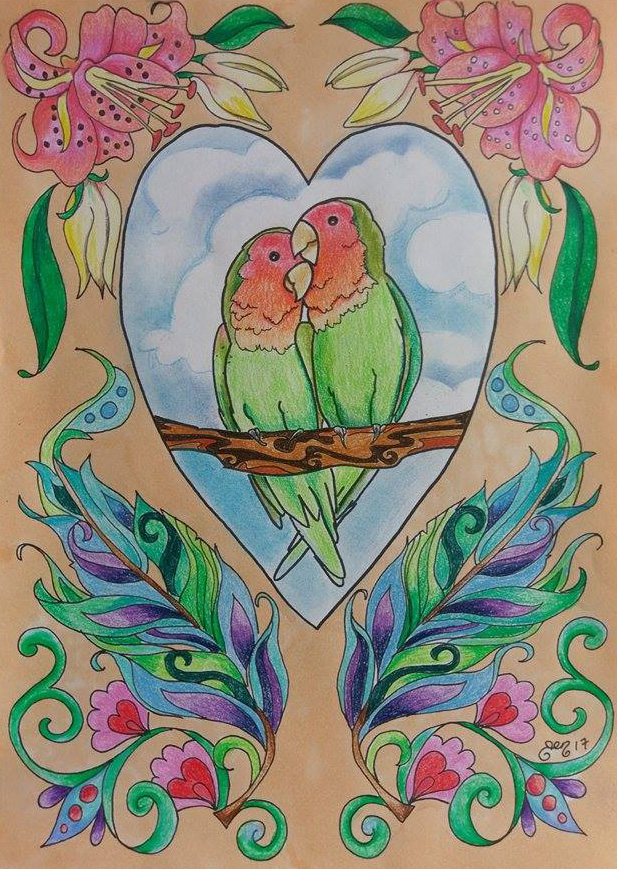 Love Birds by astraldreamer