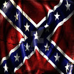 Grunge Confederacy Battle Flag by evmir1