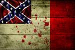Grunge Flag of Confederacy (3) by evmir1
