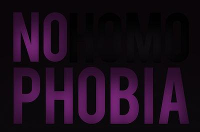 NO HOMOPHOBIA