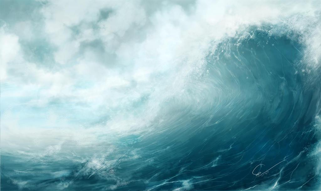Tsunami by MikaZZZ
