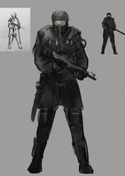 Postapo Soldier