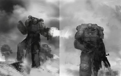 Warhammer sketches