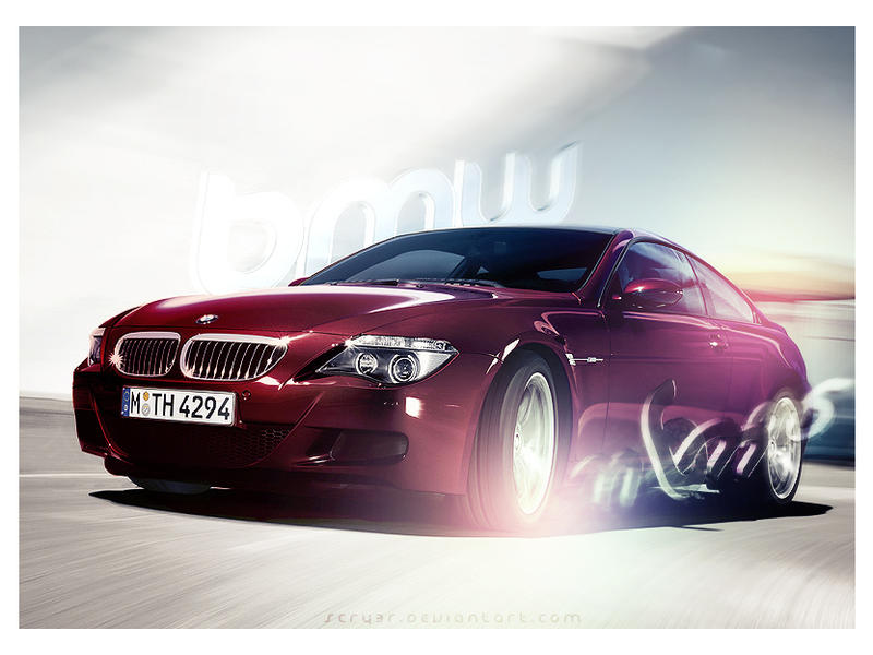 BMW M6 Photoshop