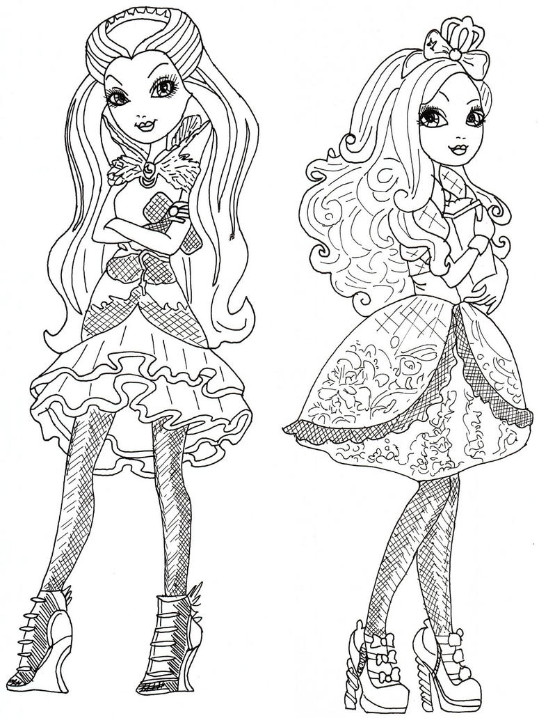 Image Result For Ever After High Coloring Pages Free