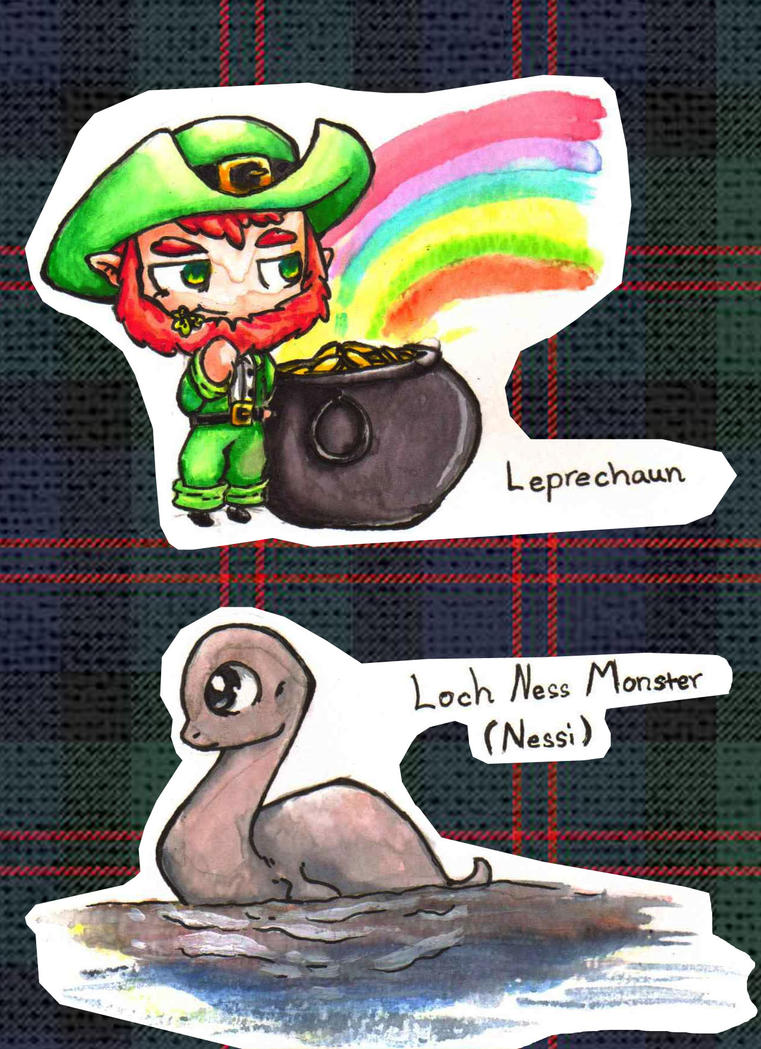 Uncategorized Leprechaun Myths irish and scottish mythical creatures chibis 2 picture picture