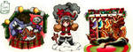 TMNT 2003 Christmas part 2 by Inya-spring