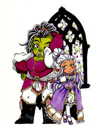 Pride and the Orc by Inya-spring