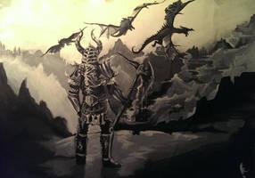 Dragon Bone Armor from Skyrim by RaquelQuiros