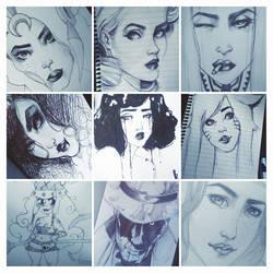 Bus Sketches :D