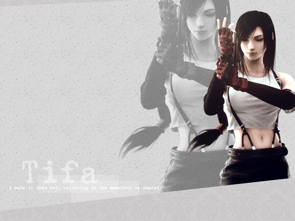 Tifa Wallpaper By ThulaMarquise