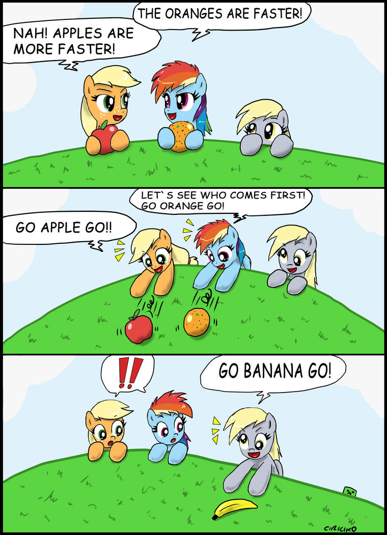 Fruit Race by CIRILIKO