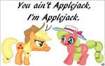 Applejack vs. Applejack