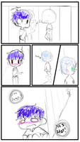 oh look a sloppy comic by LizzyDoesDrawing