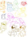 PG doodles