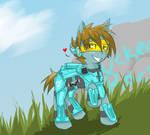 RvB Tucker pony by Yirina