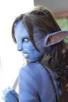 Avatar Prosthetic Makeup by Fillabula