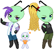Invader Group by Digi-Elf