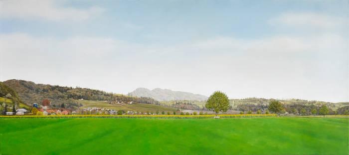 Field, 2013, 40 x 90 cm, oil on canvas