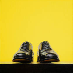 Shoes 2, 2017, 40 x 40 cm, oil on canvas