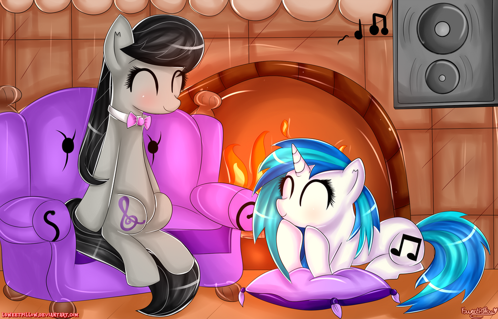 -Listening to Music- by lSweetPillow