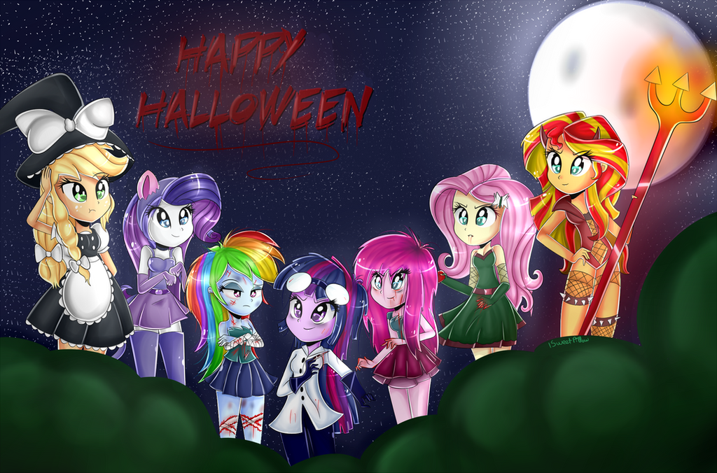 Happy Halloween~ by Sweet-Pillow on DeviantArt
