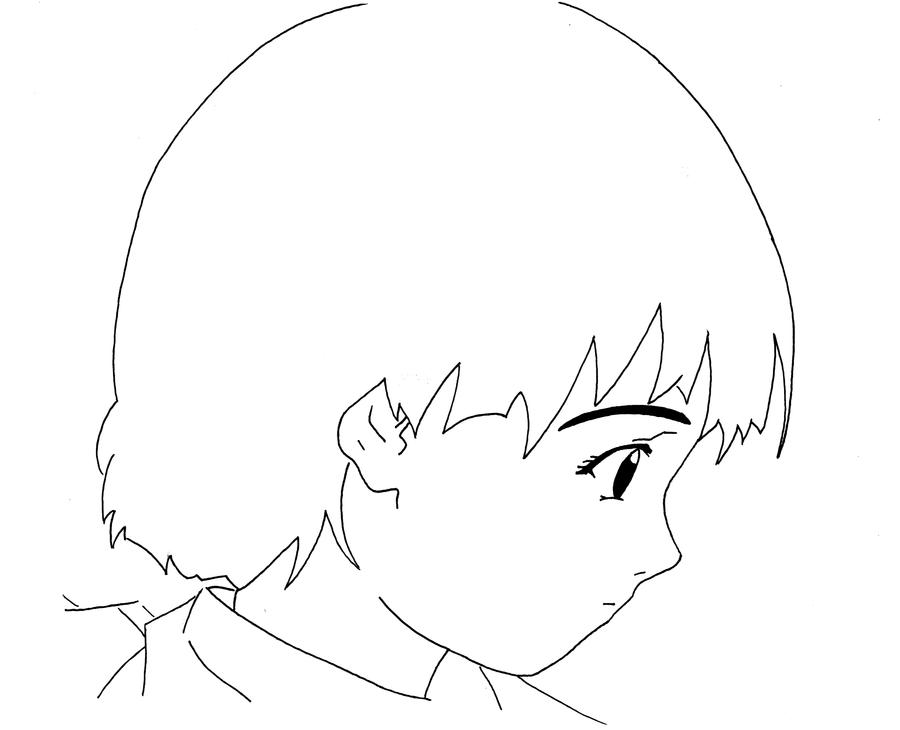 Anime - Lines Lain by Jompie