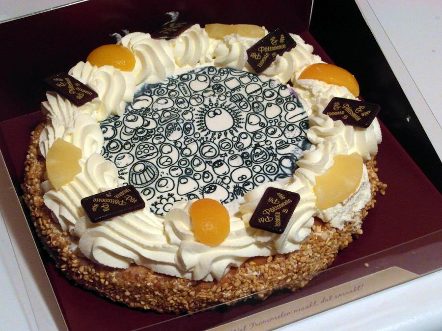 Munnen cake by Jompie