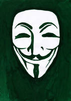 Anonymity in green by Jompie