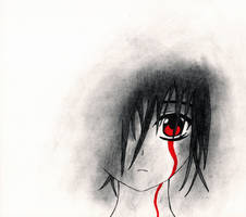 Like a wound that won't stop bleeding by Jompie